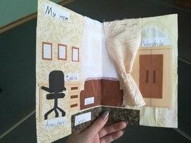 """Творческое домашнее задание """"3D модель моей комнаты"""" по английскому языку."""