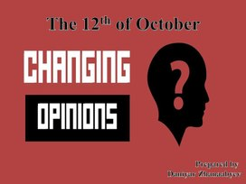 Exchanging opinions (9 класс)