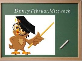 """Презентация к открытому уроку немецкого языка в 3 классе """"Карнавал в школе"""""""