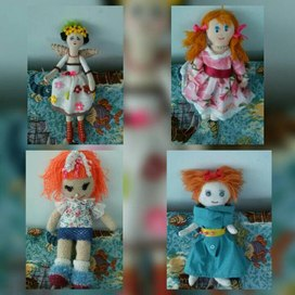 "Фотоотчет кукла ""Добряша"""