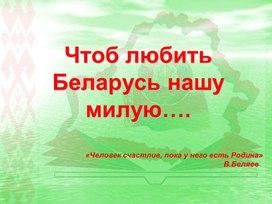 """Презентация к мероприятию """"Чтоб любить Беларусь нашу милую"""""""