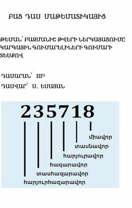 Բազմանիշ թվեր