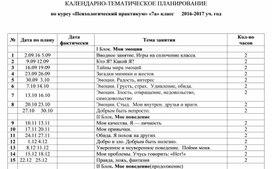 """Рабочая программа по курсу """"Психологический практикум"""" (7 класс)"""