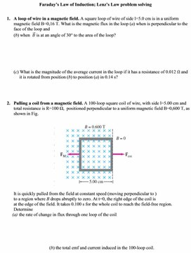 4Lenz rule, phenomenon of self-inductance
