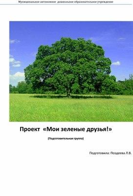 """Проект """"Мои зеленые друзья"""""""
