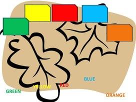 Презентация для 2 класса, повторение цветов