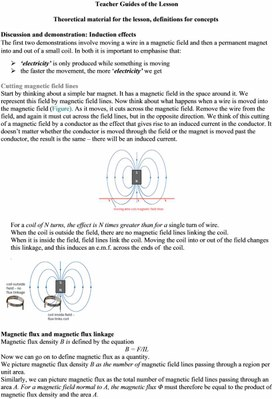 4Electromagnetic induction. Magnetic flux and flux linkage