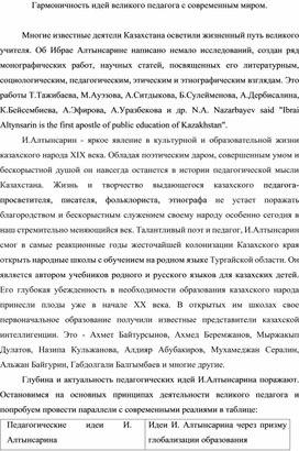 Идеи великого писателя Алтынсаоина созвучны с идеями современности
