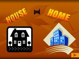Различия слов дом в английском языке