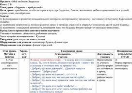 """Зауралье - край родной"""