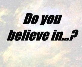 Ролевая игра :ВЫ верите в ...? Английский язык