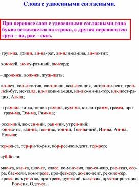 Памятки по русскому языку (2 класс, русский язык)