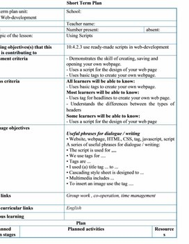 1_Computer science grade 10Using Scripts_lesson_plan1_1 variant