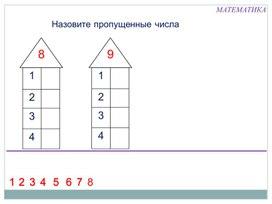 """Технологическая карта урока математики """"Состав чисел в пределах 10"""""""