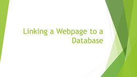 2Webpage to a Database_did_mat2_1 variant
