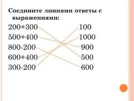 Сложение и вычитание натуральных чисел