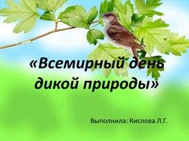 Презентация дикая природа