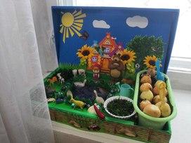 «Живые витамины» огород у нас в группе