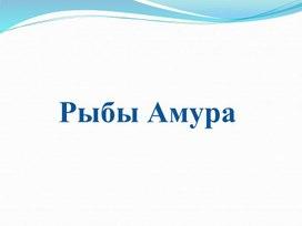 """Презентация """"Рыбы Амура"""""""