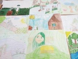 С праздником- 9 Мая! творческая работа  ученицы  3 Б класса Галеевой  Рияны.