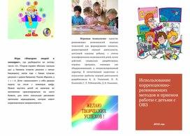 «Использование коррекционно-развивающих методов и приемов работы с детьми с ОВЗ»