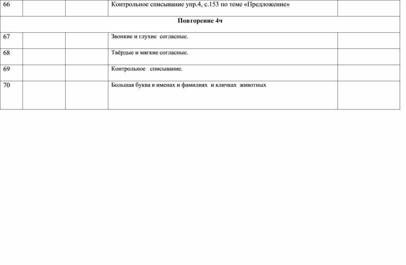 Контрольное списывание упр.4, с