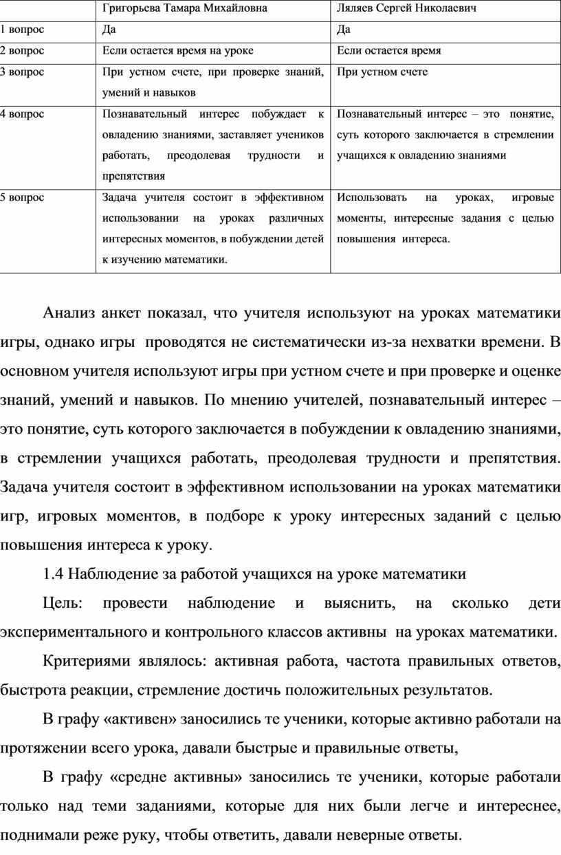 Григорьева Тамара Михайловна