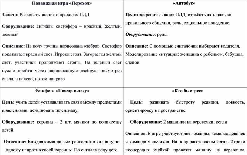 Подвижная игра «Переход» Задачи: