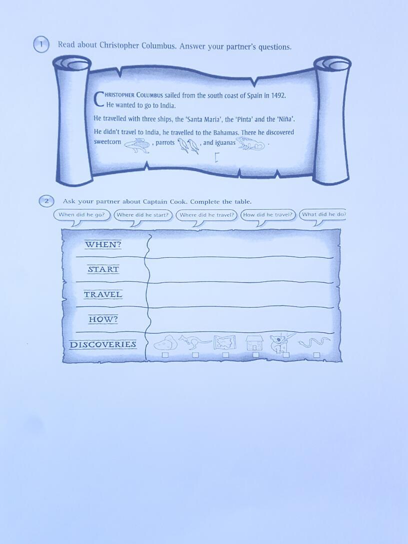 """План-конспект урока по английскому языку на тему """"Discoveries""""(4 класс, английский язык)"""