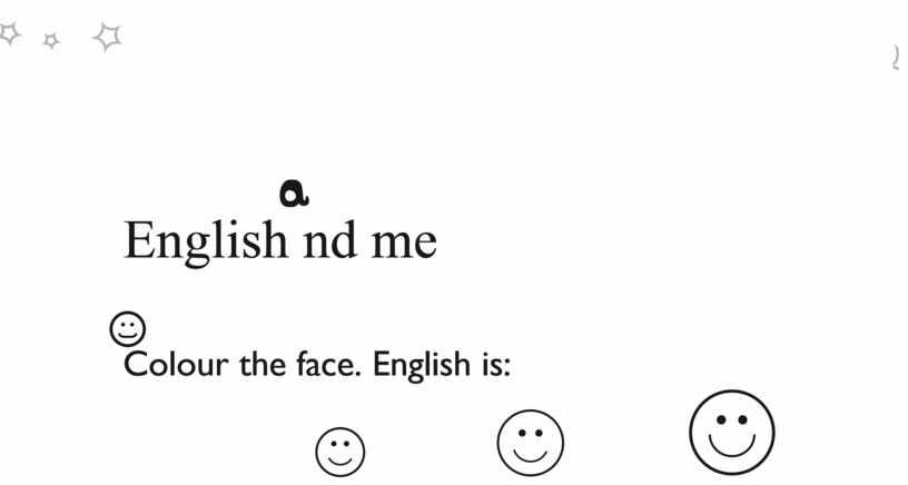 English nd me
