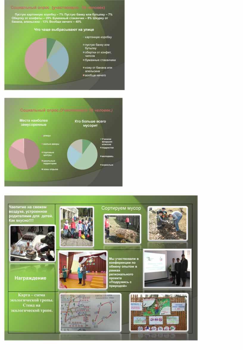 Проект: «Экологическая культура  младших   школьников»
