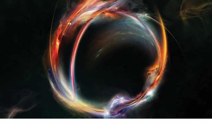 Создание невероятного космического эффекта в Фотошоп