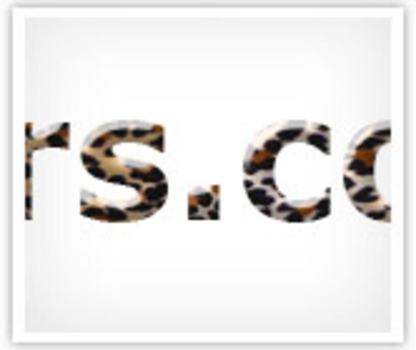 """Урок """"Леопардовый текст"""" в программе Adobe Photoshop"""