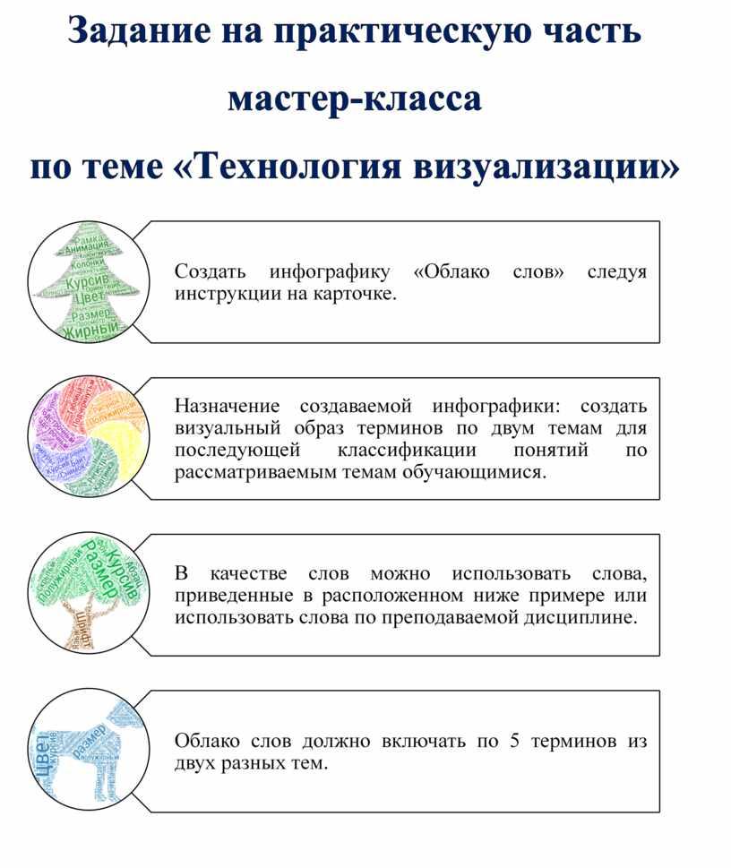 """Практическая часть мастер-класса  """"Облачные сервисы"""""""