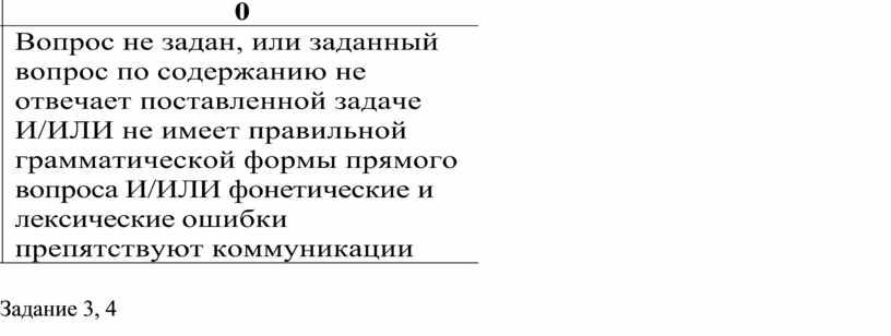 Задание 3, 4