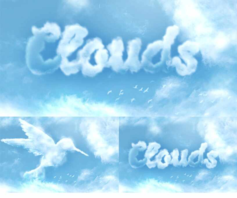 Превращаем текст в пушистые облака