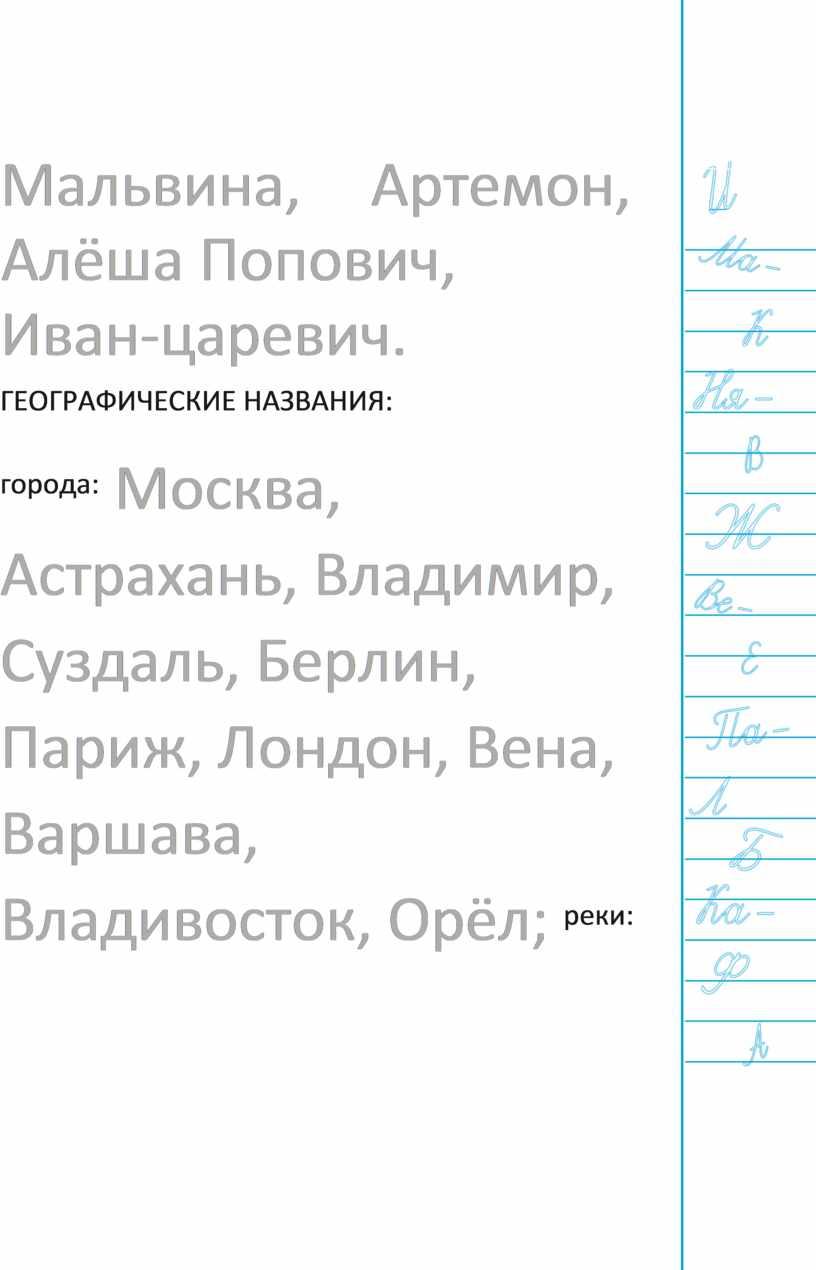 Мальвина, Артемон, Алёша Попович,