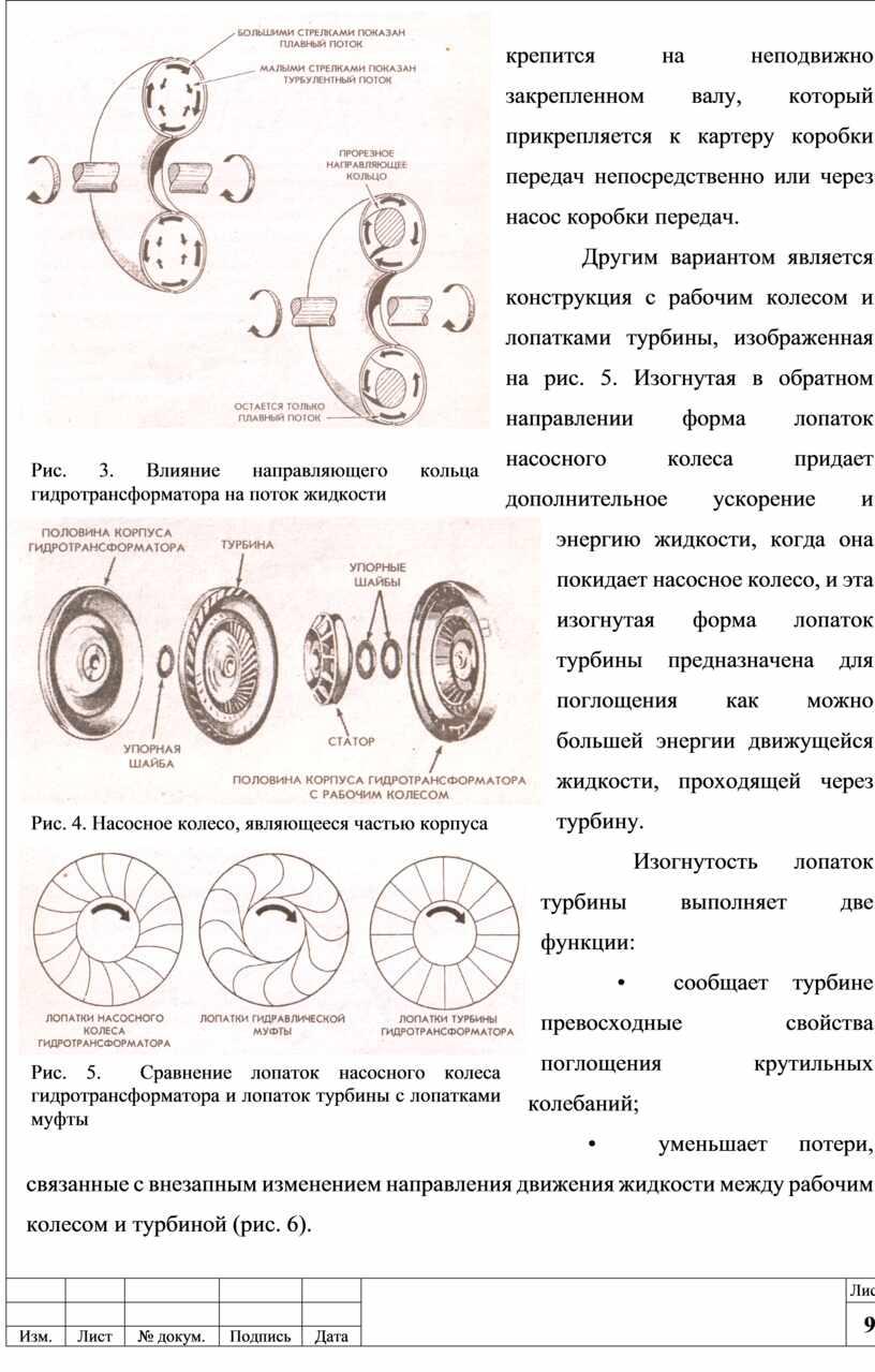 Другим вариантом является конструкция с рабочим колесом и лопатками турбины, изображенная на рис