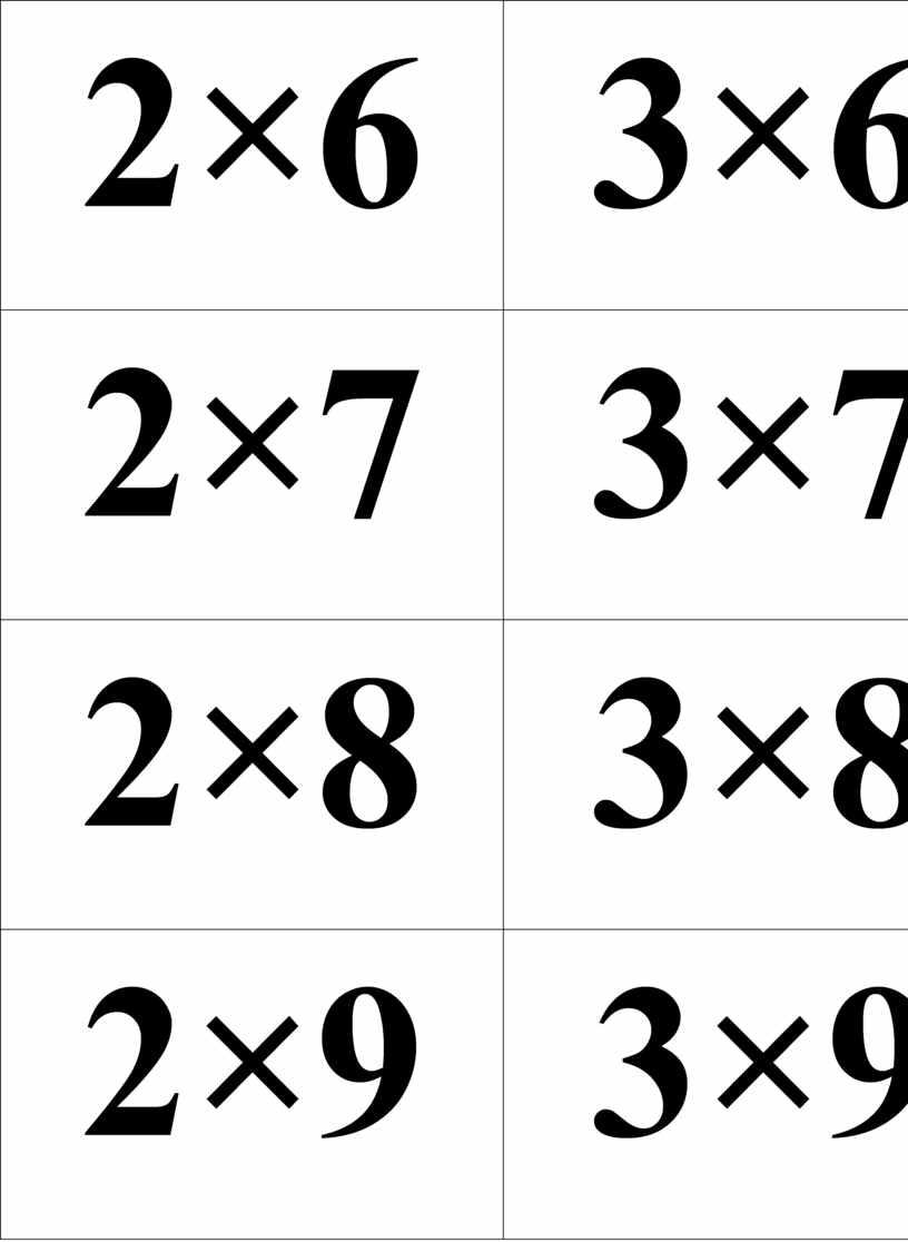 2×6 3×6 2×7 3×7 2×8 3×8 2×9 3×9 2×10 3×10