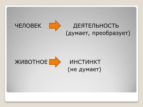 """Презентация  к уроку """"Человек и его деятельность"""" 6 класс обществознание"""