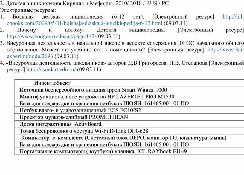 Детская энциклопедия Кирилла и
