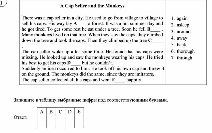 A Cap Seller and the Monkeys