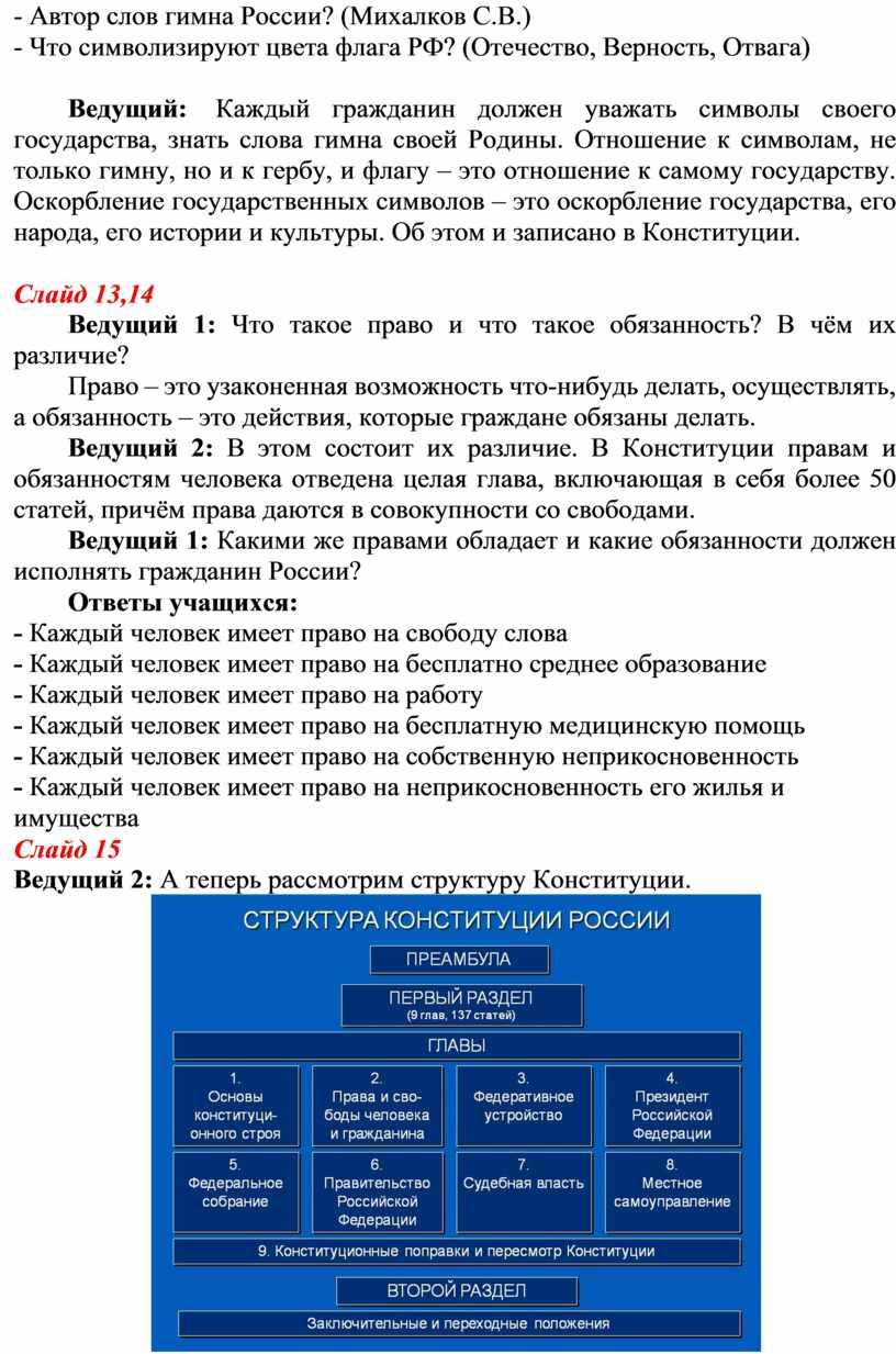 Автор слов гимна России? (Михалков