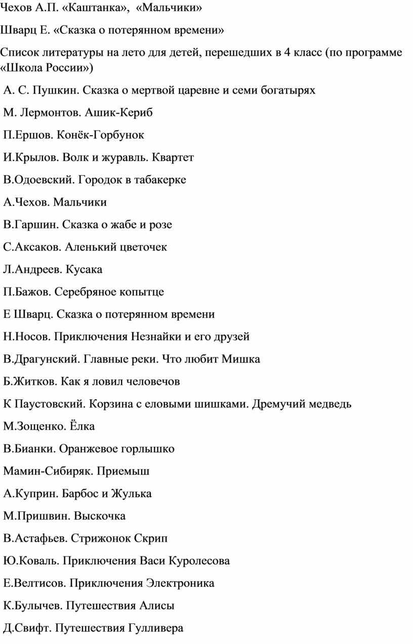 Чехов А.П. «Каштанка», «Мальчики»