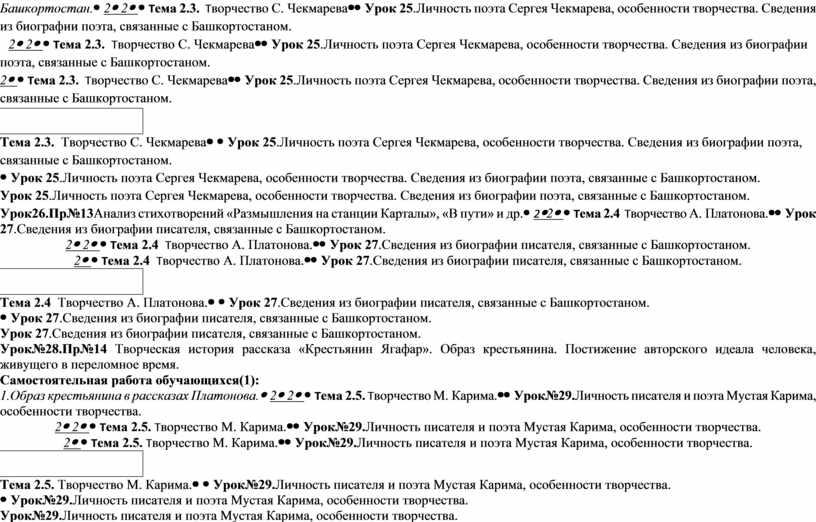 Башкортостан. 22 Тема 2