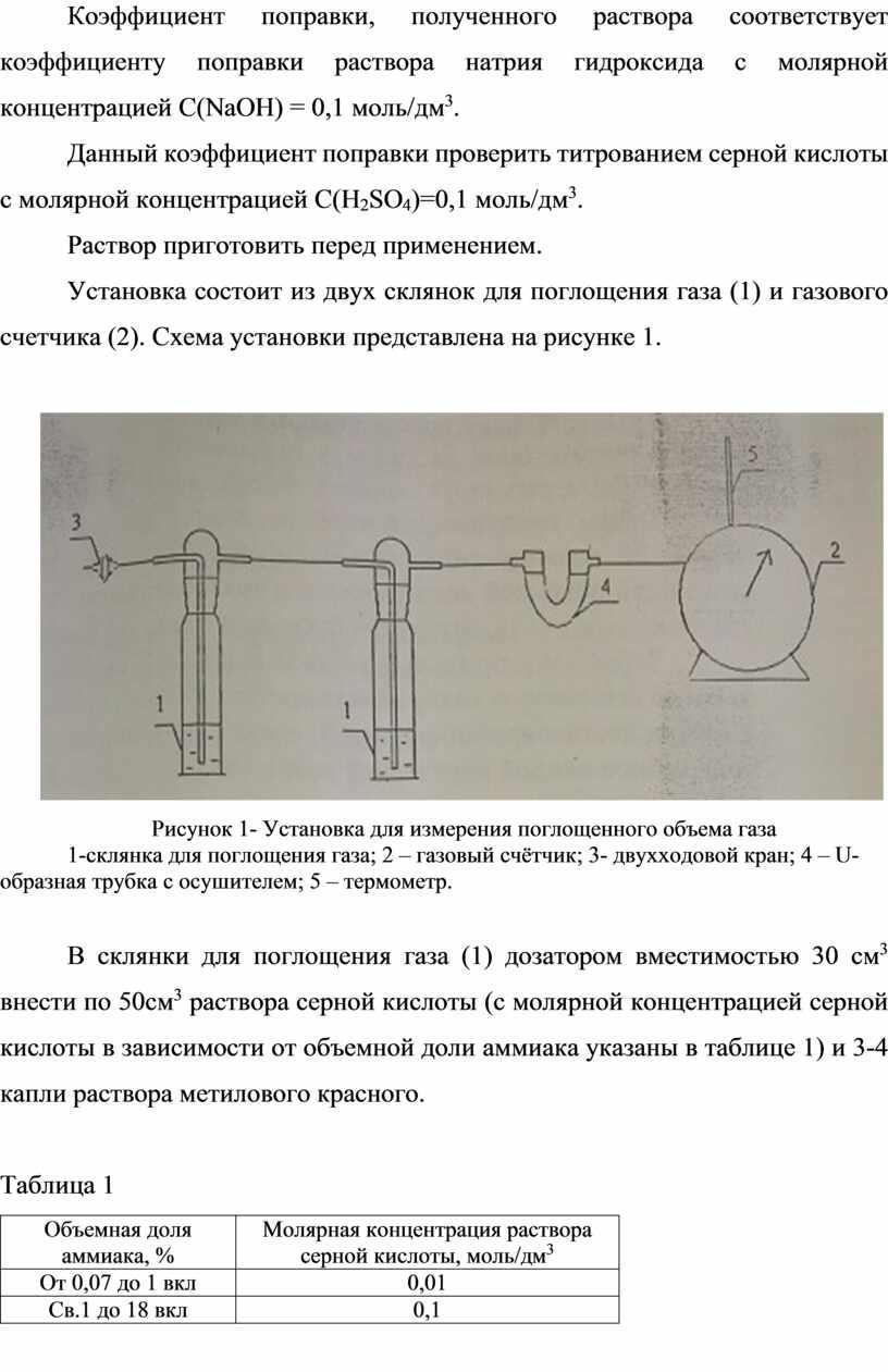 Коэффициент поправки, полученного раствора соответствует коэффициенту поправки раствора натрия гидроксида с молярной концентрацией