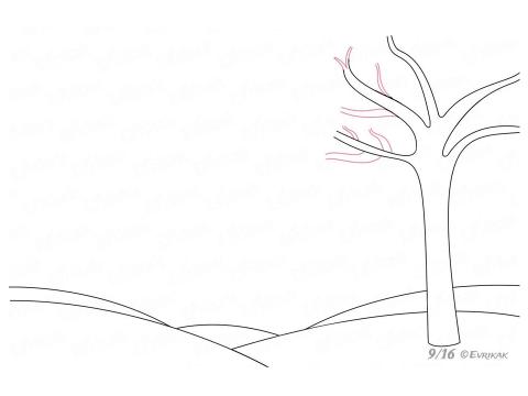 "Презентация по ИЗО ""Учимся рисовать осенний пейзаж"""