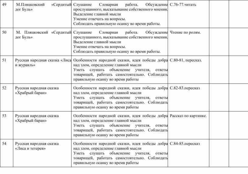 М.Пляцковский «Сердитый дог Буль»