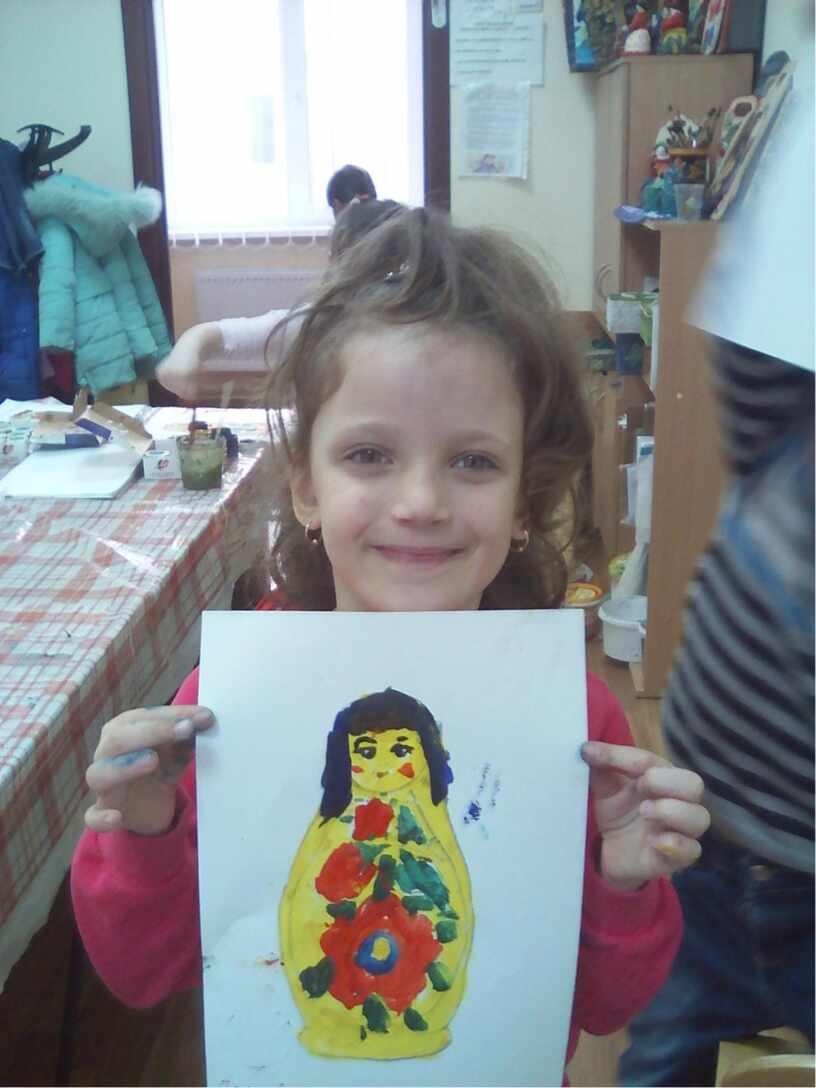 Наши матрешки.Творческие работы  детей  дошкольного возраста.