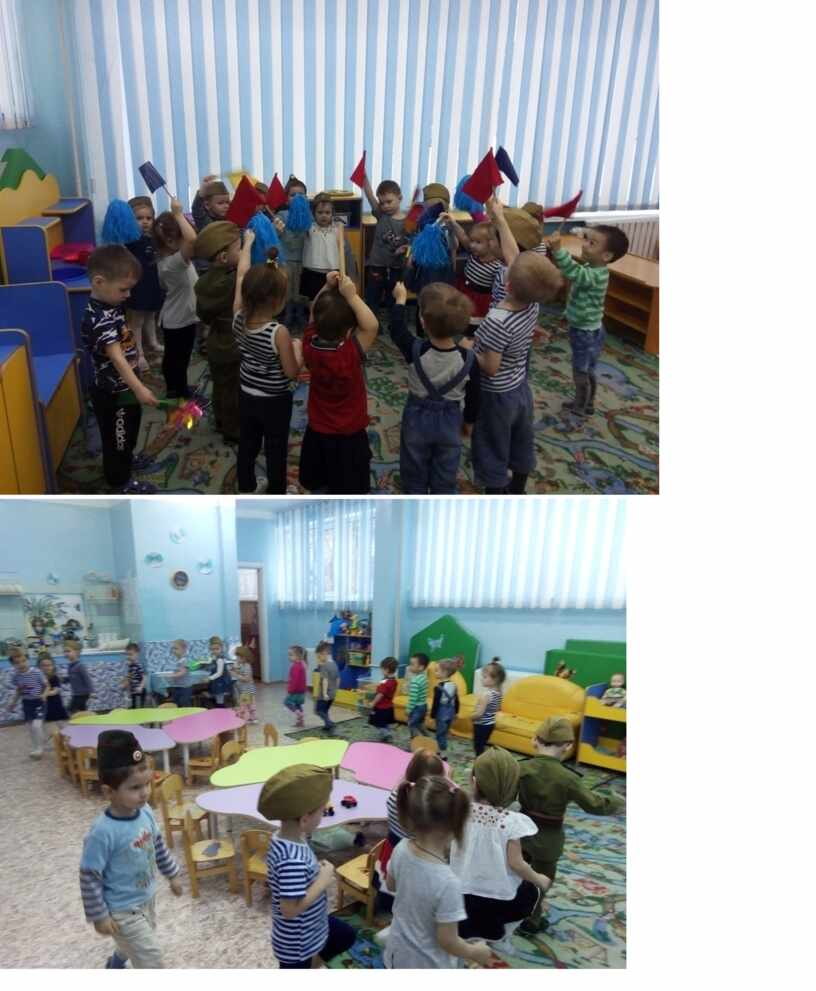 Развлечение к 23 февраля «День защитника Отечества» для детей 3–4 лет
